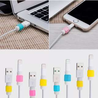 Iphone charger cable protector