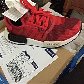 US 4.5 NMD Red Camo Graphic