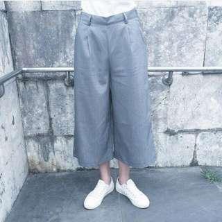 🚚 高腰西裝寬褲