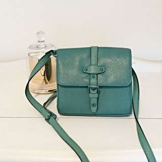 Topshop Emerald Mini Satchel Bag