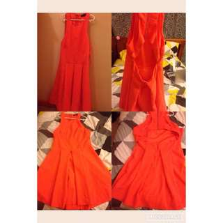 Valley Girl Part Backless Dress