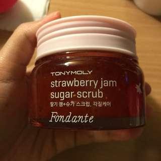 Tonymoly Strawberry Scrub