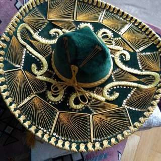 An Authentic  Mexican sombrero