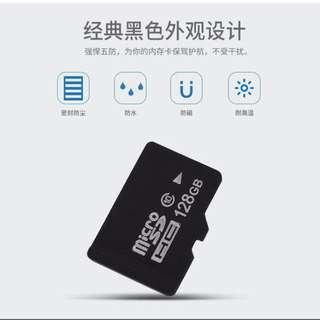 micro SD 128G 記憶卡  全新