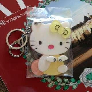 Kitty貓 hello kitty 壓克力鑰匙圈 三麗鷗 key ring