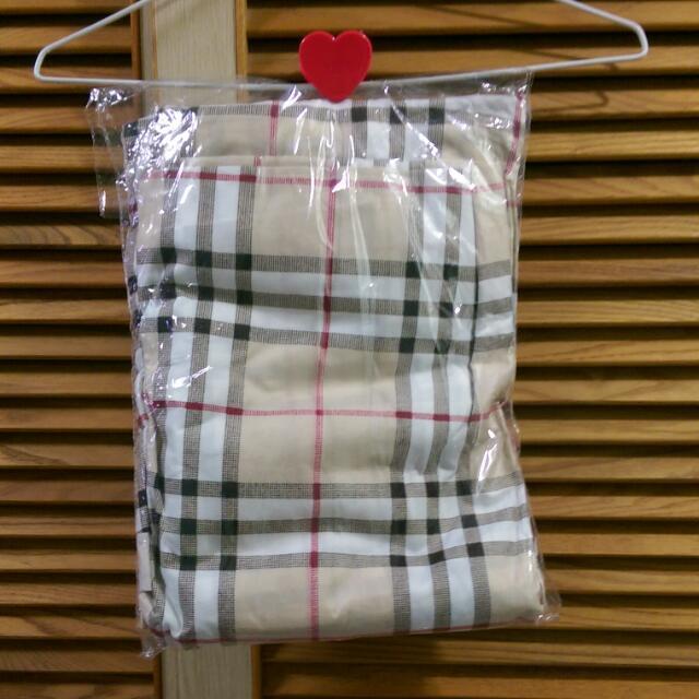 [↓降]格紋床包