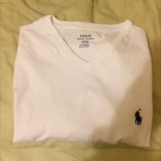 Authentic White Ralph Lauren T-Shirt