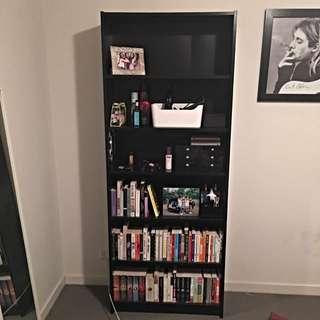 Black IKEA Bookcase