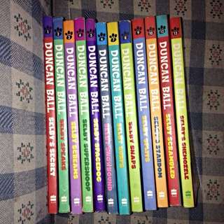 Selby Books 1-10 12+13
