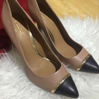 Authentic Coach Heels/Pumps