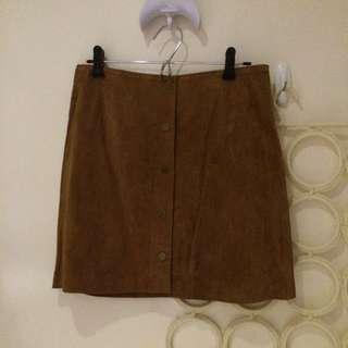 New Look Suede Skirt