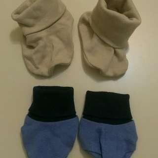 寶寶腳套兩雙