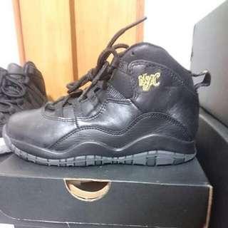 Jordan10 nyc(台灣未出童鞋)