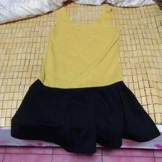 背心傘狀洋裝