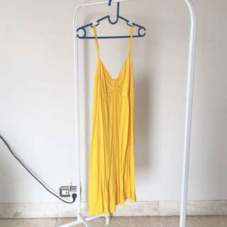 New Yellow Tank Top Dress