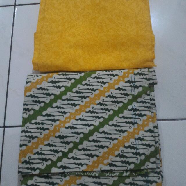 2 Bahan Batik Set