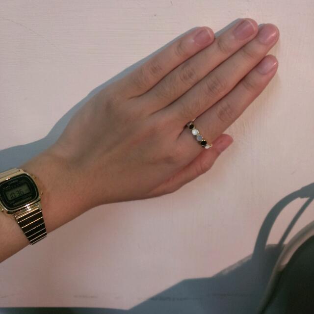 全新  泰國設計琺瑯戒指