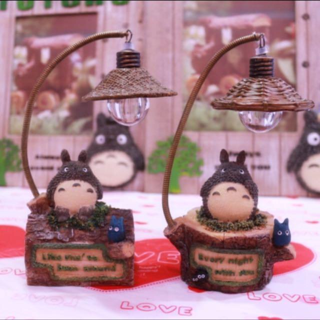 宮崎駿 豆豆龍 龍貓小夜燈 另有 米奇 米妮卡通 龍貓 史迪奇 美樂蒂 杯麵 行動電源 妖怪手錶 收納盒