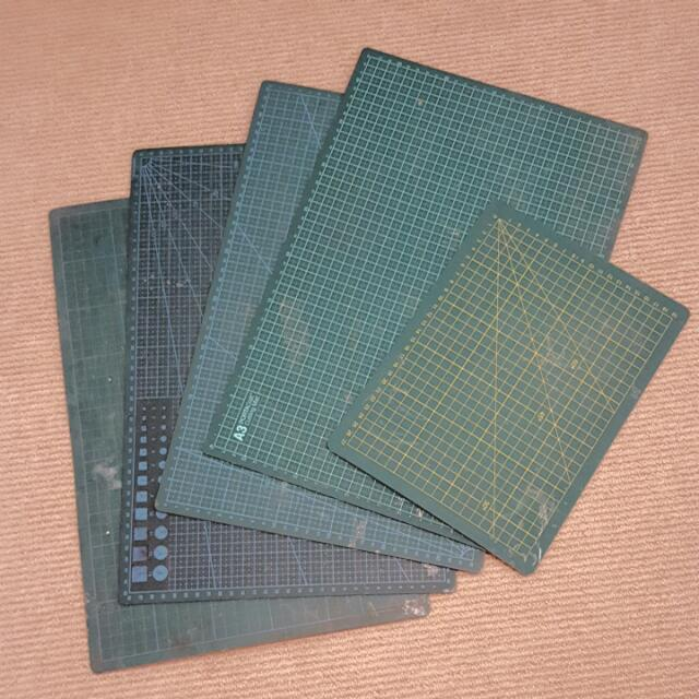 A4 & A3 Cutting Mats All For $15