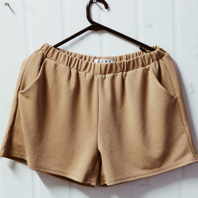Ache Camel Shorts