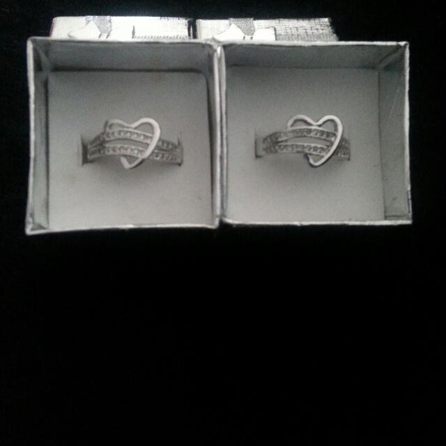 All My Love Silver Rings