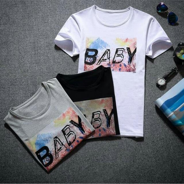 Baby情侶裝 (一件250) (兩件450)