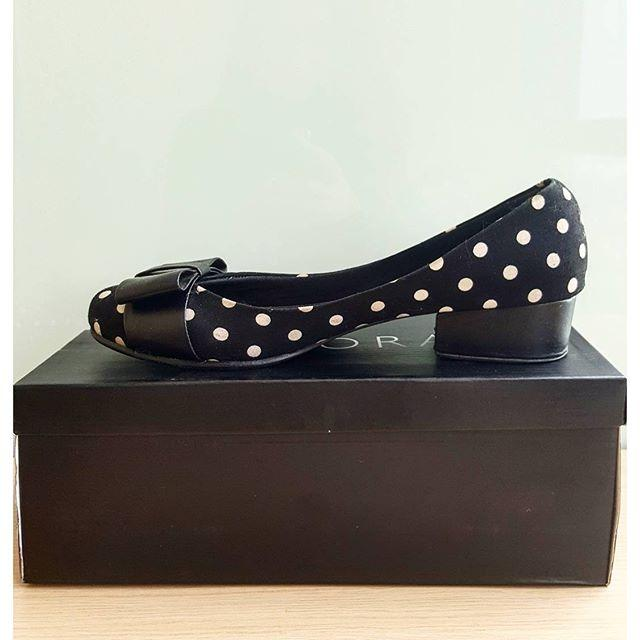 Block heels ftat shoes