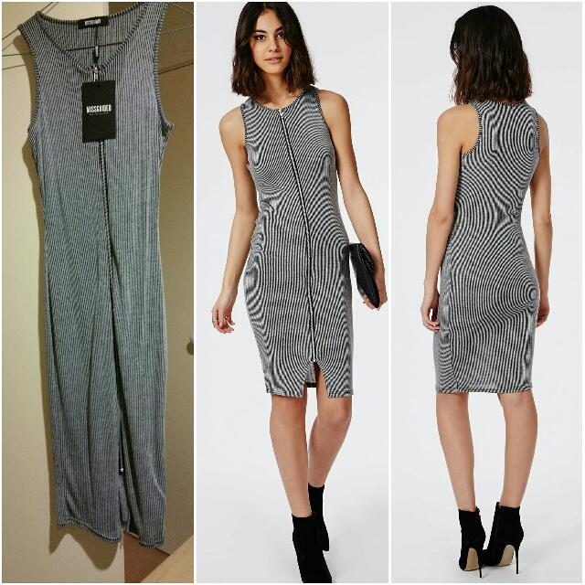 Brand New Missguided Zip Front Dress