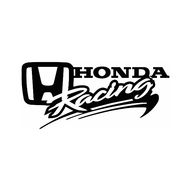 honda racing stickers for bikes satu sticker