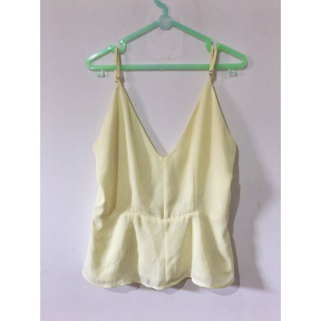 F21 Backless Top
