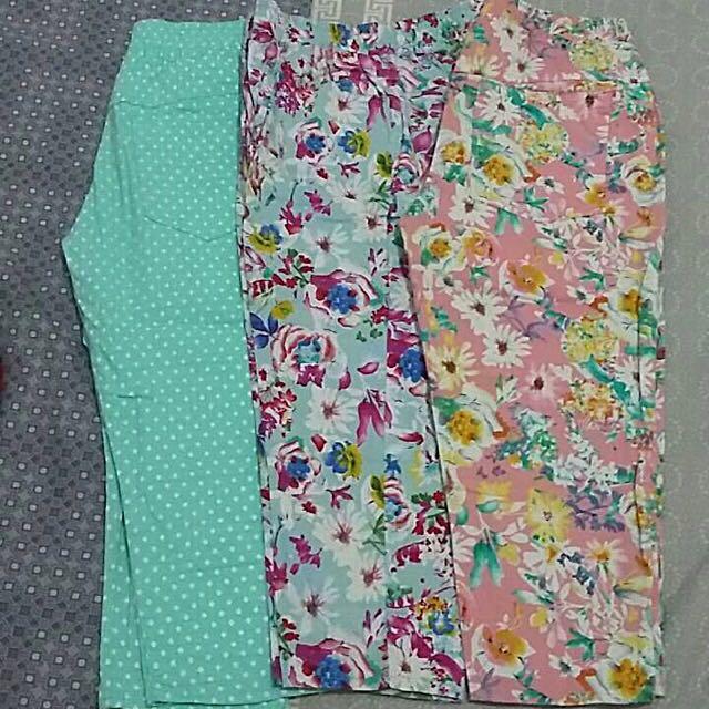 Flower Pants (3pcs)
