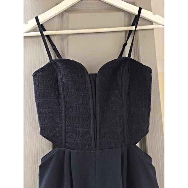 H&m Jumpsuit/playsuit With Cute Embroidery