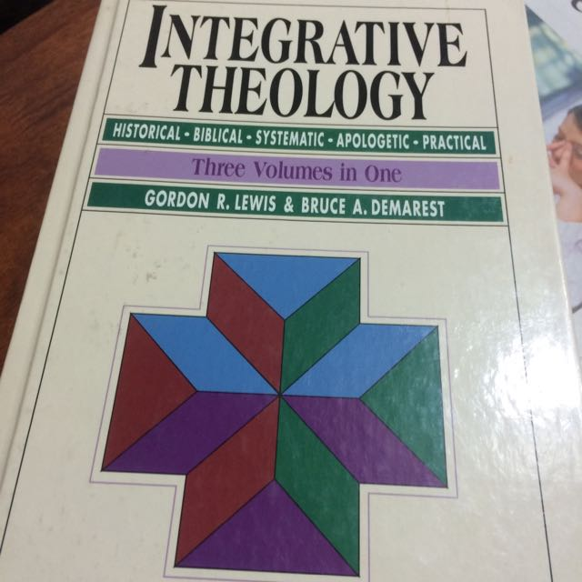 Integrative Theology 3 In 1 Volume Books Stationery Fiction On
