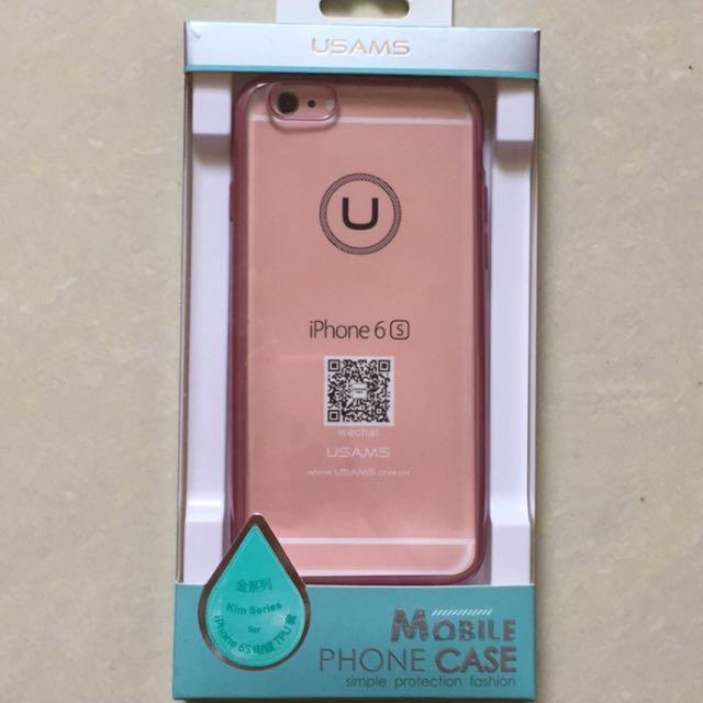 Iphone6/6s TPU電鍍手機殼含運