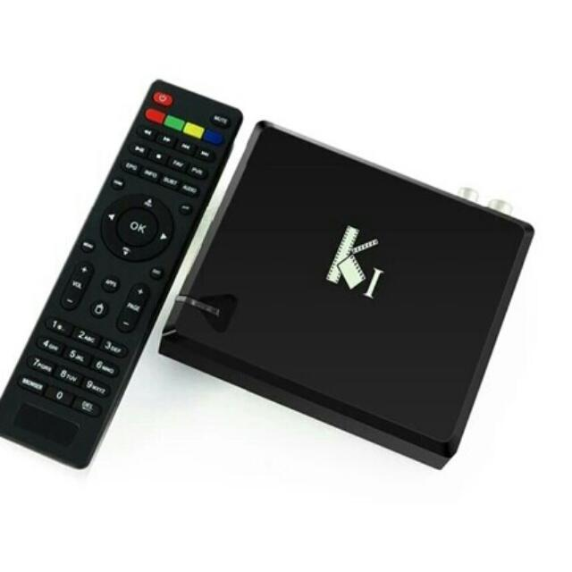 K1 DVB-T2 Digital TV tuner (HD ready for SG) and Android box, 2in1  Antenna  provided