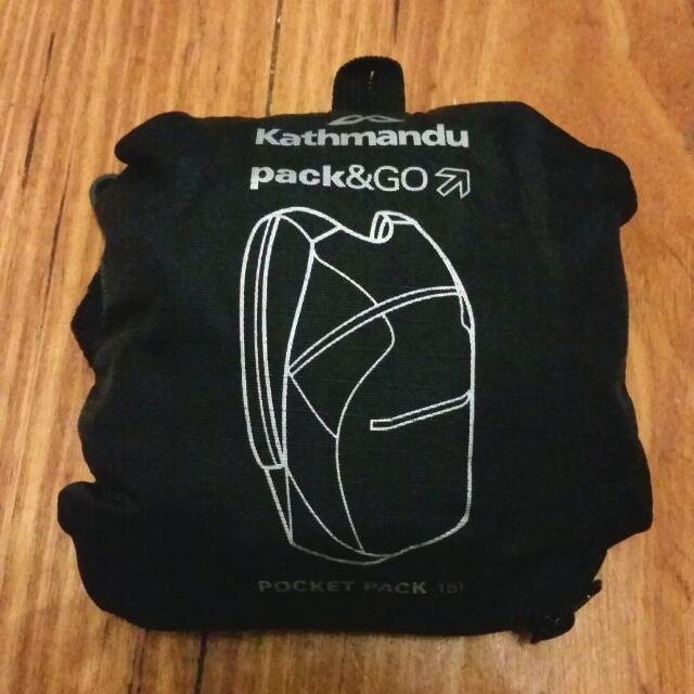Kathmandu Pack N Go Bag