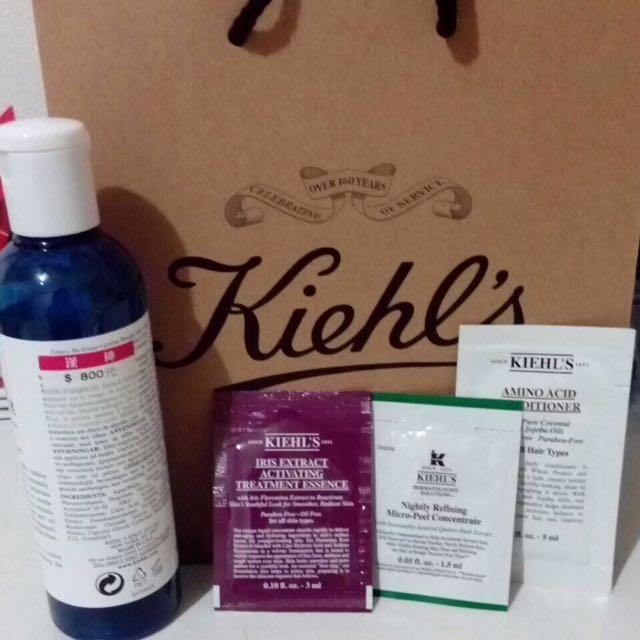 Kiehl's 無油 冰河清爽化妝水 250ml