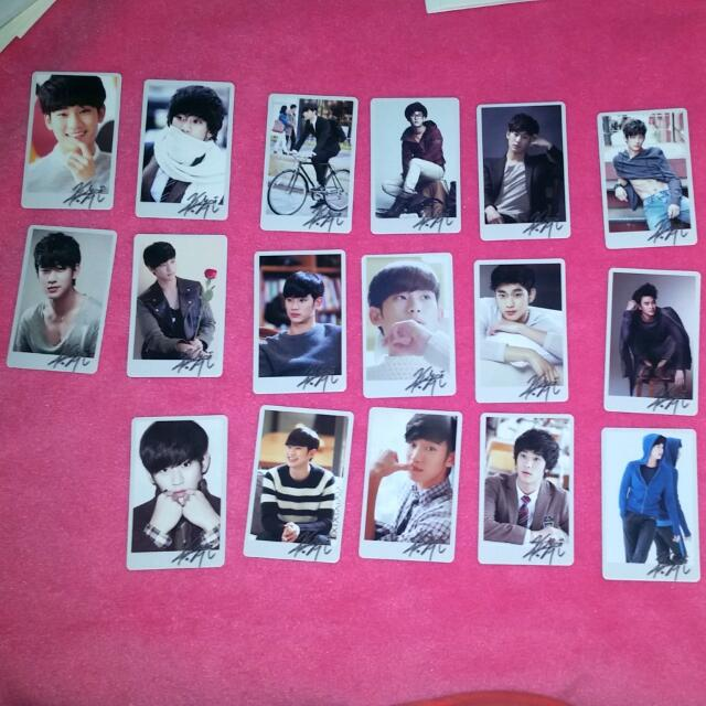 Kim Soo Hyun Photocards