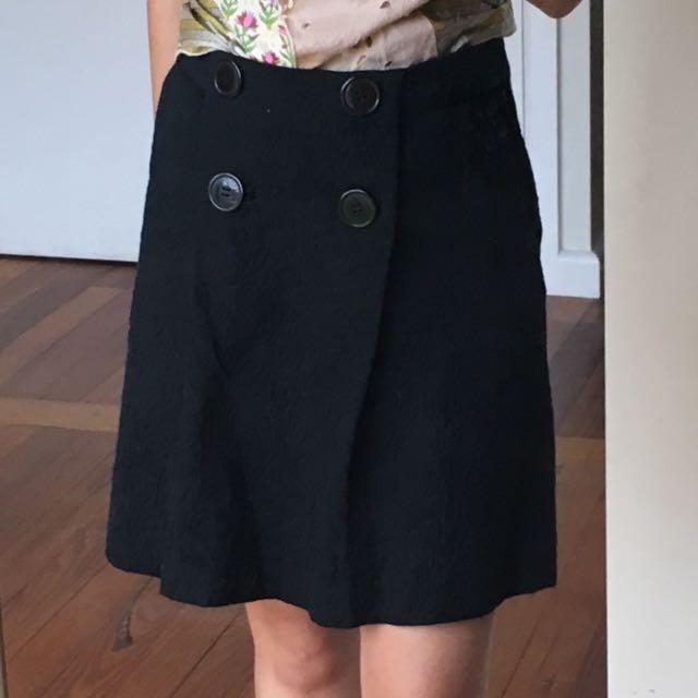 Label: Princess Highway / Textured Mini Skirt