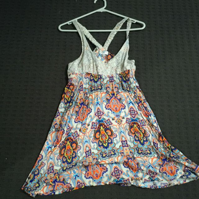 Large Size Floral Dress