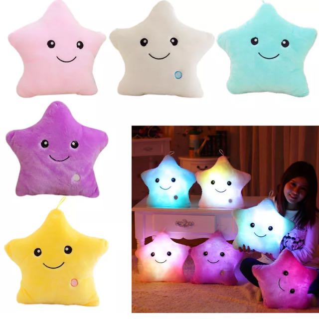 LED Light Pillow Toy