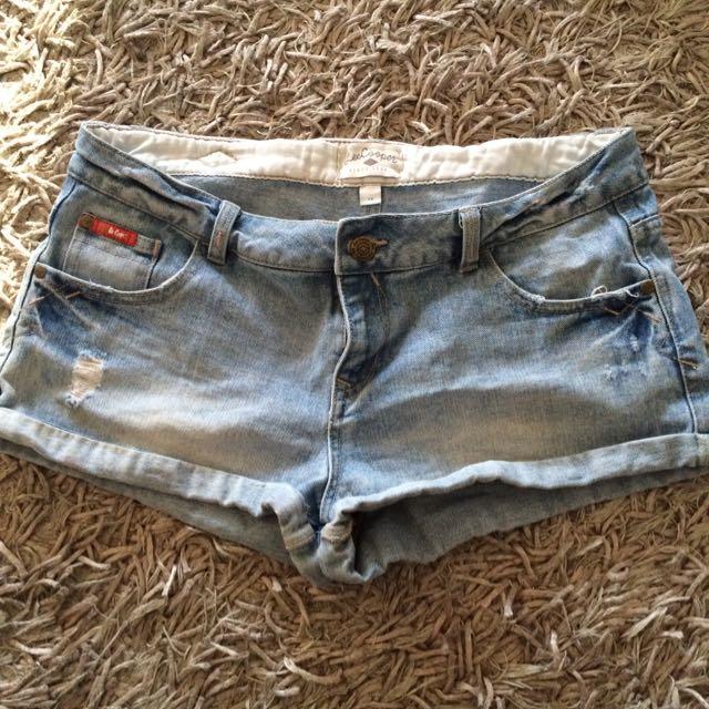 Lee Cooper Size 12 Denim Shorts