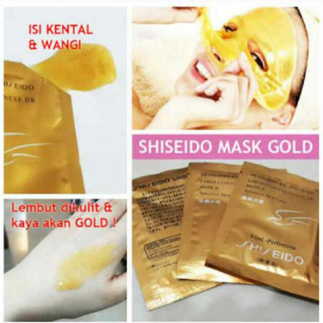 Masker Gold