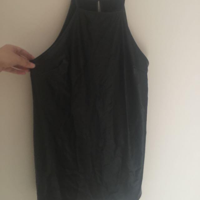Mink Pink Black Dress