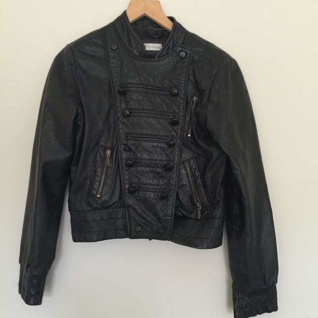 Miss Selfridge Leather Jacket