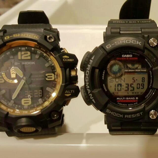 Mudmaster GWG-1000GB And Frogman GWF-1000-1JF
