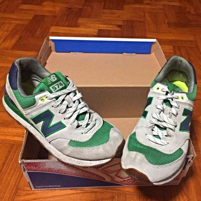 New Balance 574 Exclusive To ASOS Yacht Club Trainers cfbd15dd9