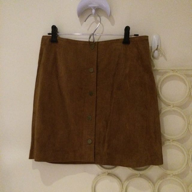 New Look Suede Skirt