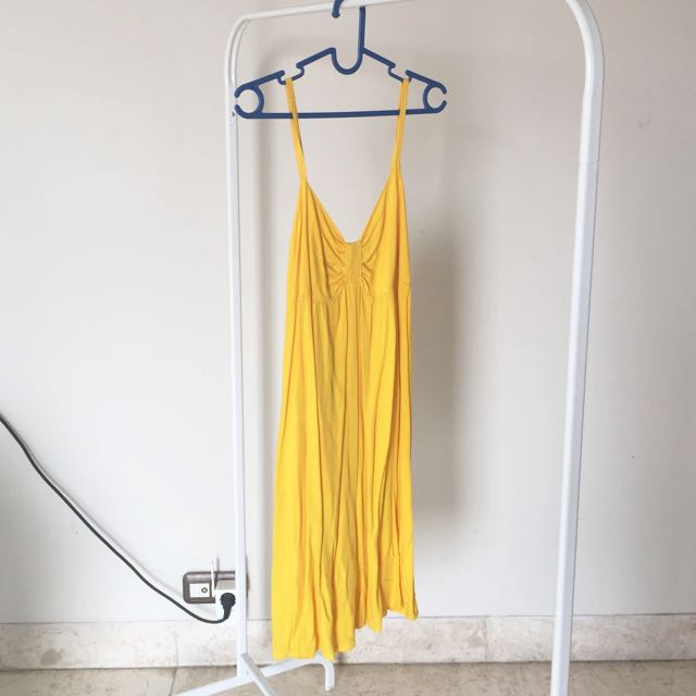 New Yellow Tank Top Dress