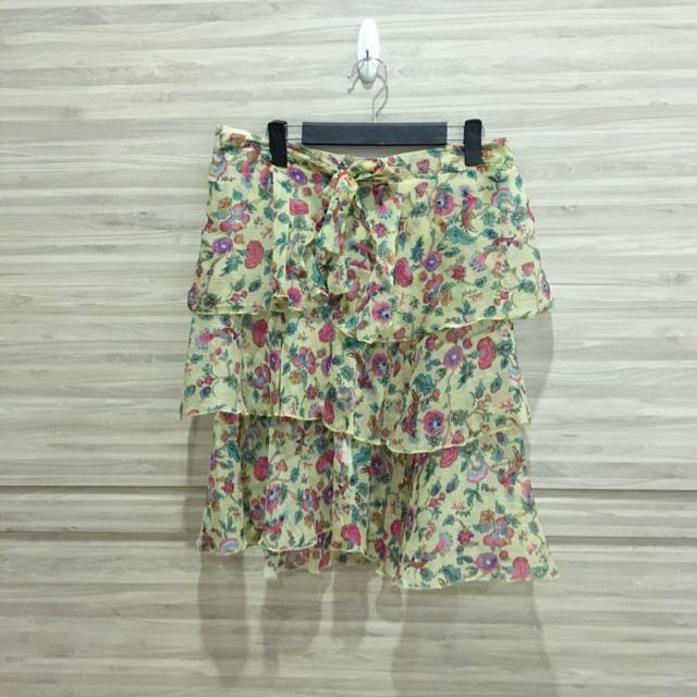 Pre loved Asos Chiffon Ruffle Bandeau Beach Dress
